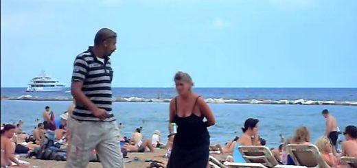ビーチ オバチャン