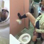 女子校生がオシッコ遊びでワイワイやってるのを見てると癒される