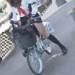 アクメ自転車の強烈快感で大量失禁