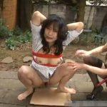 レズ拷問されてる女性の強制放尿シーン