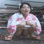 夏祭りに行った浴衣少女に起きた悲劇!ちょっと野外放尿しただけなのにぃ!!