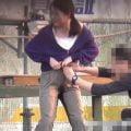 ダメーッ、ズボンの紐が緩まないよ~・・・おしっこでビシャビシャになっちゃた